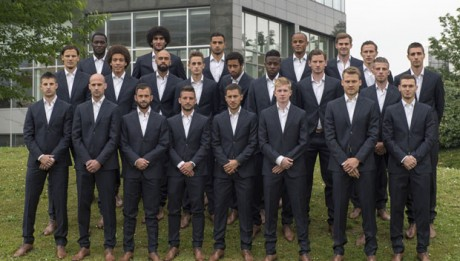 National Soccer Team of Belgium - McGregor