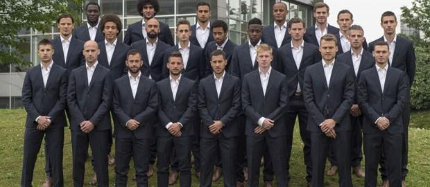 National Soccer Team of Belgium - McGregor